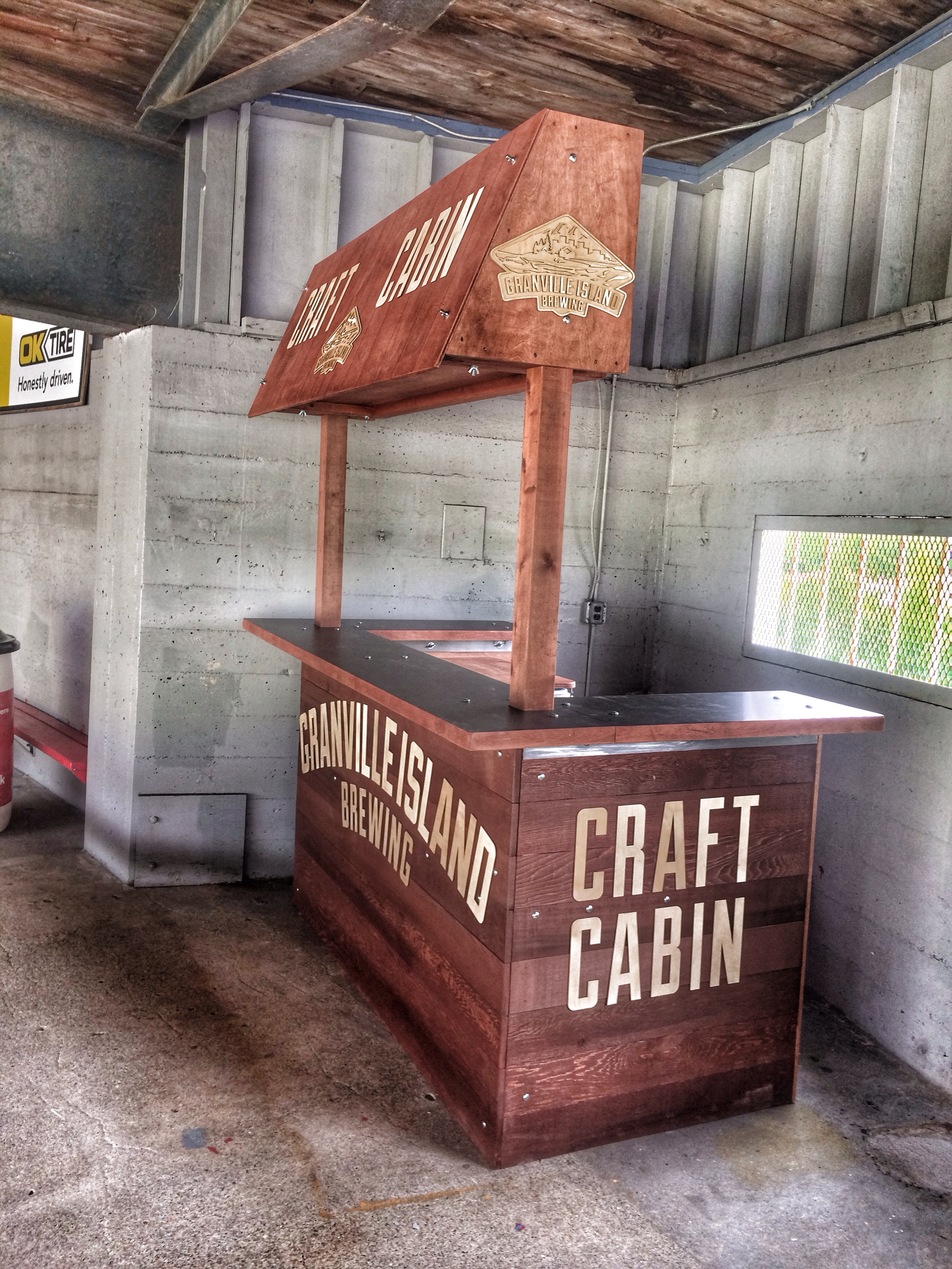 Granville Island Brewery Craft Cabin At Nat Bailey Stadium
