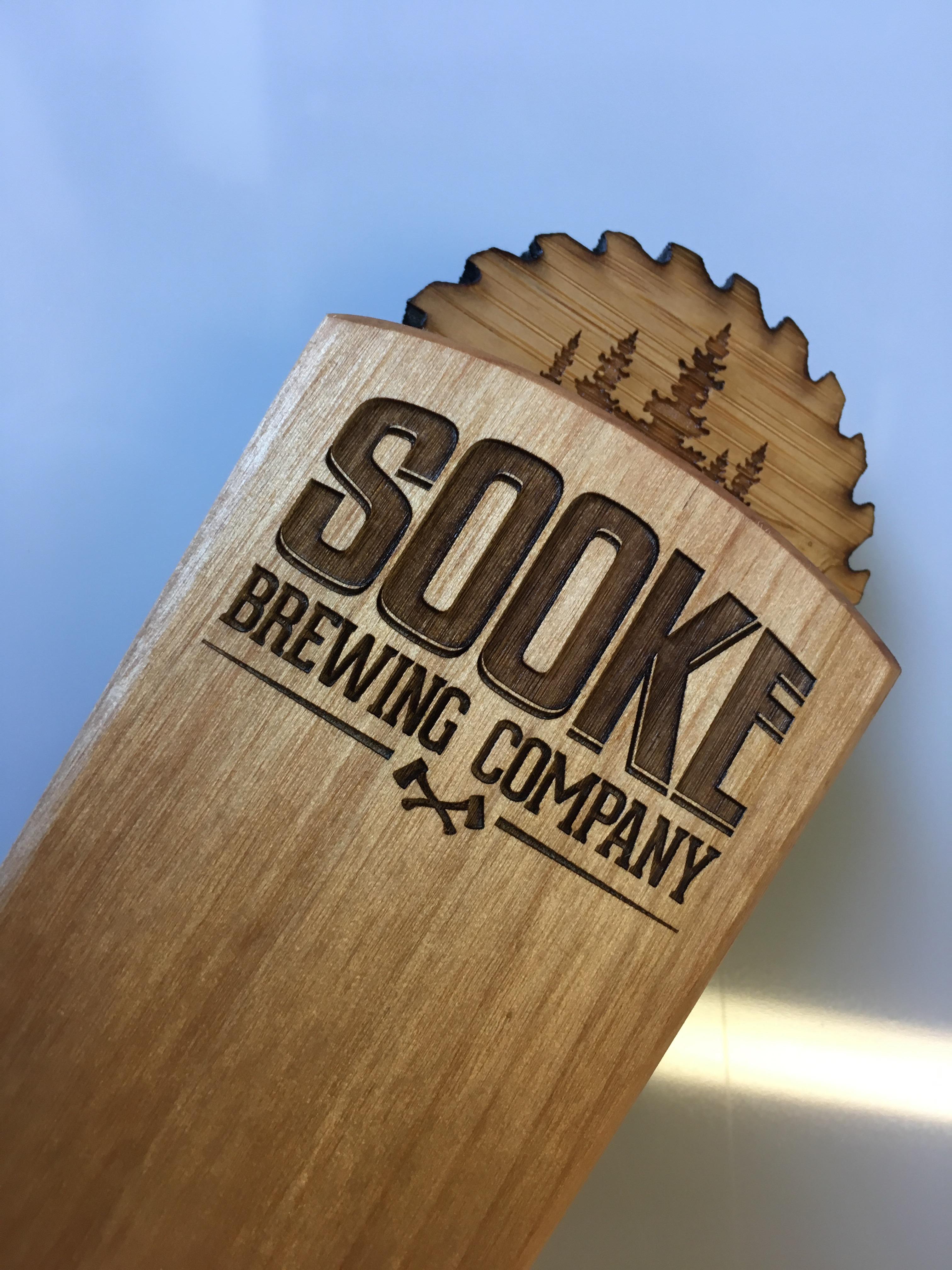 Sooke Brewing Tap Handles