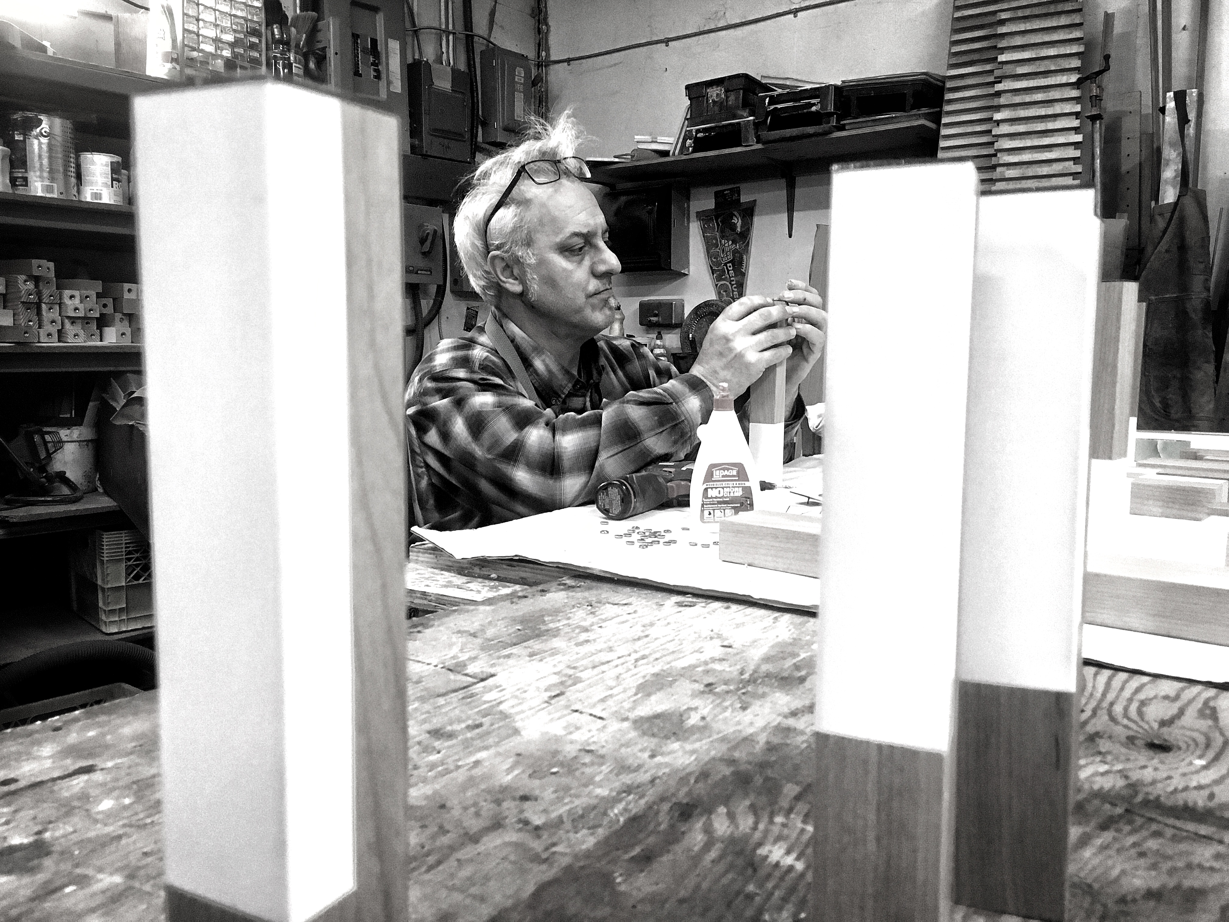 Adam Berson Woodworking Craftsman